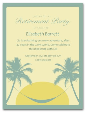 Free Retirement Party Invitation Templates For Word | Template Business