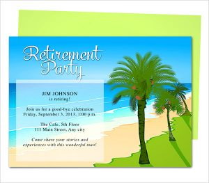 free retirement party invitation templates for word oasis retirement party invitation template