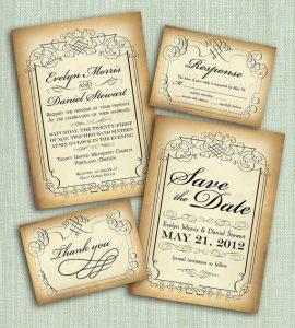 free rustic wedding invitation templates il xn