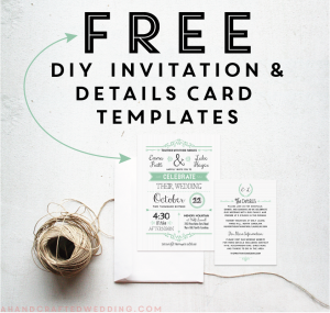 Free Rustic Wedding Invitation Templates Template Business