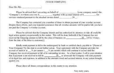 free sample demand letter for payment master demand letter