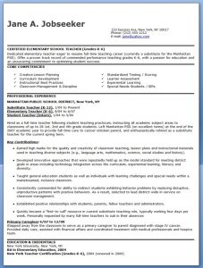 free sample resume for teachers elementary school teacher resume samples free