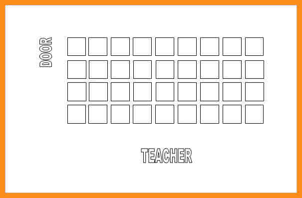 Free Seating Chart Template Template Business