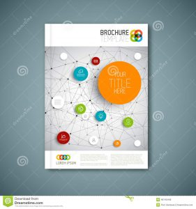 free sign up sheet template modern vector abstract brochure report design template flyer