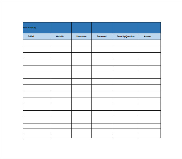 free spreadsheet template - Free Excel Spreadsheet Templates
