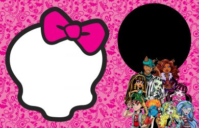 free stencil templates monster high template monster high