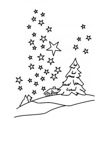 free superhero coloring pages clear winter night sky with million of stars coloring page by years old