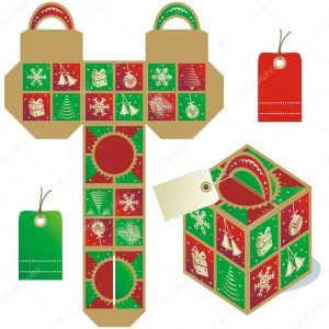 free tag templates depositphotos stock illustration holiday gift packaging template