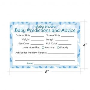 free time card template boy baby shower game baby advice and prediction cards cards distinctivs x