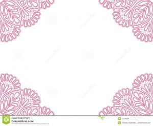 free time card template template frame design card vintage lace doily