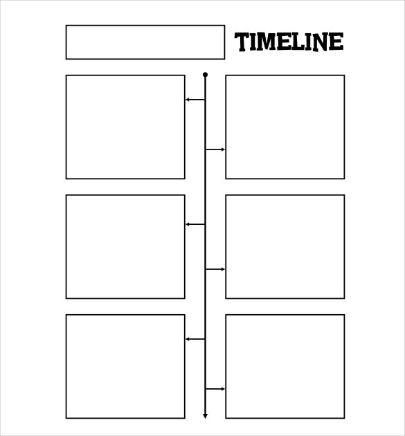 free timeline template template business