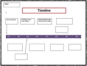 free timeline template timeline template