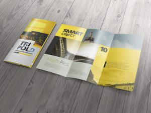 free tri fold brochure template high resolution tri fold brochure mockup