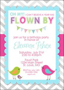 free water bottle labels little bird birthday invitation