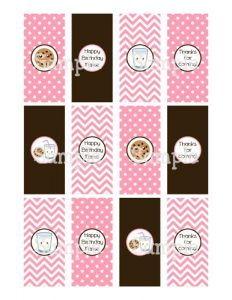 free water bottle labels printable kawaii milk andamp s personalized water bottle labels db