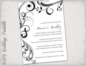 free wedding invitation templates for word free wedding invitation templates x