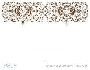 free wedding invitation templates for word wedding invitation template from only by invite