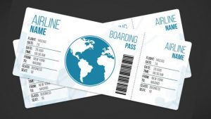 free wedding place card template airplane ticket template