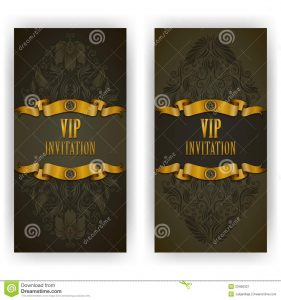 free wedding place card template elegant template vip luxury invitation card lace ornament place text floral elements ornate background vector