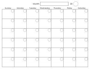 free weekly calendar printable blank monthly calendar free