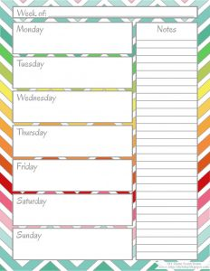 free weekly calendar printable weekly calendars fun printable weekly calendars ykbjoq