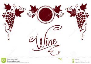 free wine label template reeks elementen voor een wijnetiket