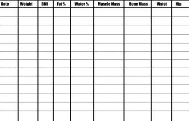 free work schedule template fitness tracker small