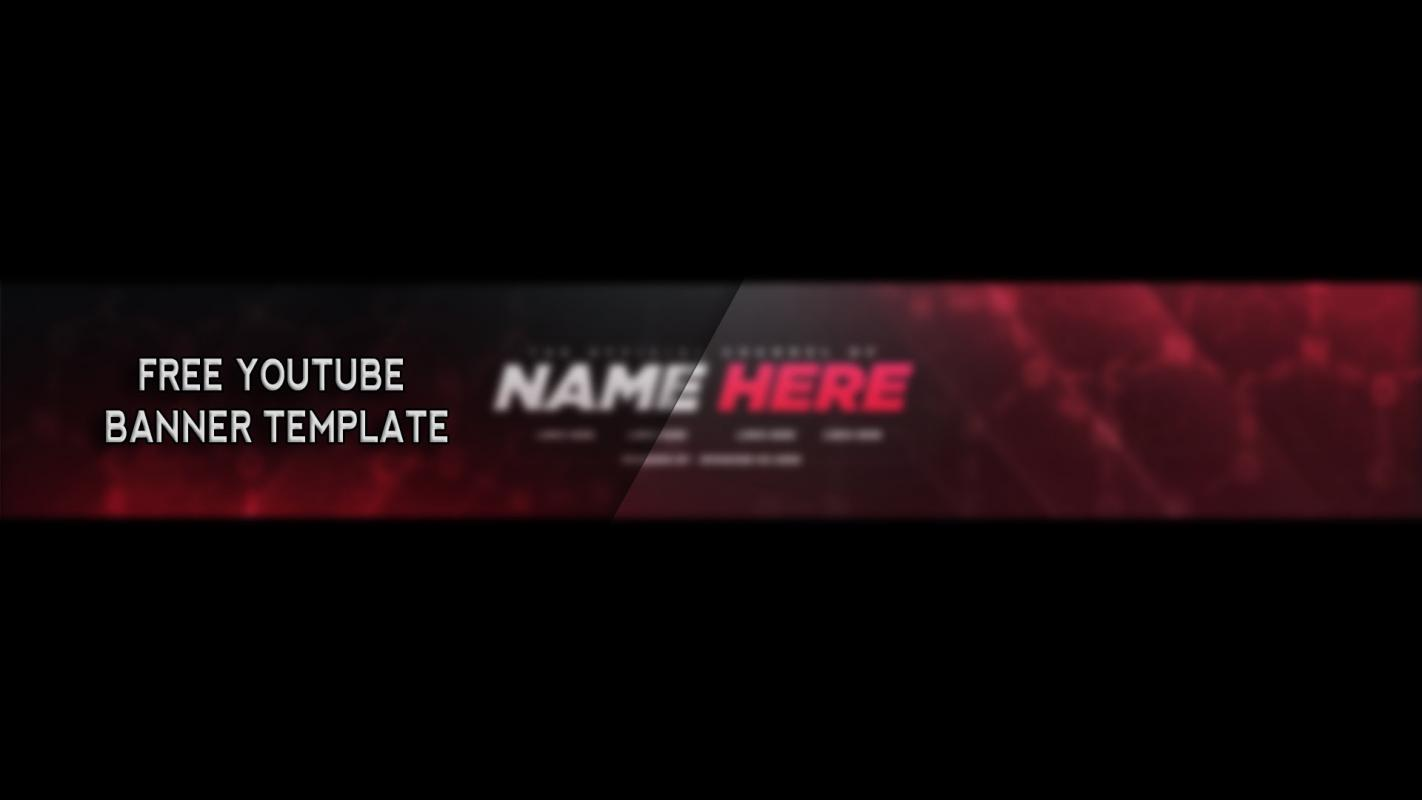 youtube channel picture template - free youtube banner template business