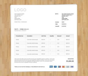 freelance graphic design contract wood invoice