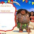 frozen bday party invitations free printable moana invitation template