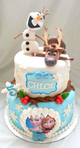 frozen bday party invitations frozen cake sven and olaf