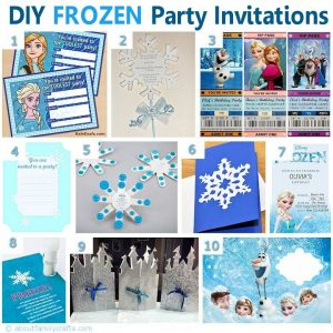 frozen bday party invitations frozen movie inspired party invitations
