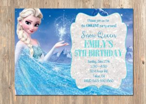 frozen bday party invitations il fullxfull gbrz