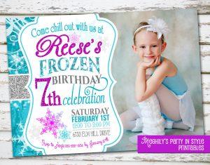 frozen birthday invitations il fullxfull czye