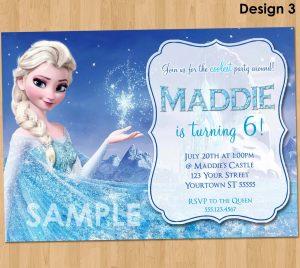 frozen birthday invitations il fullxfull ijgf