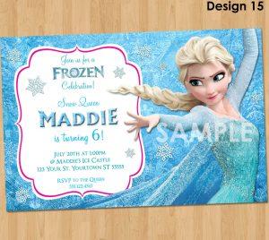 frozen birthday invitations il fullxfull zqa
