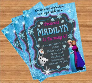 frozen birthday party invitations il fullxfull cemu
