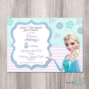 frozen birthday party invitations il fullxfull fklv
