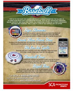 fundraiser flyer ideas baseball