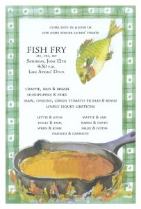 fundraiser flyer ideas fish fry invitation ob