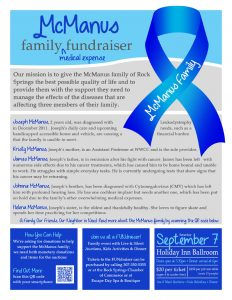 fundraiser flyer ideas mcmanus family fundraiser flyer baacn