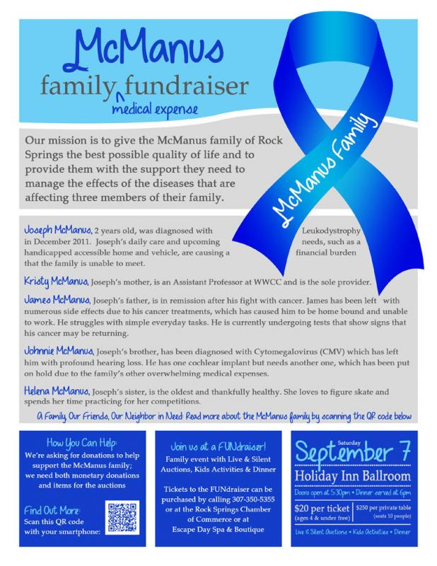 fundraiser flyer ideas