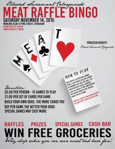 fundraiser flyer template meat raffle flyer