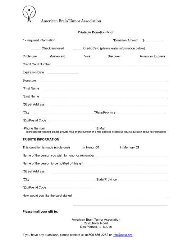 Fundraising Order Form Templates  Template Business