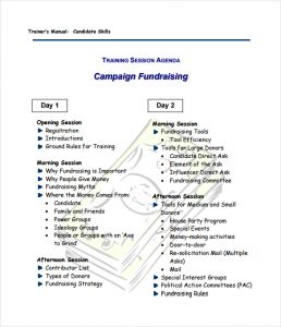 fundraising plan template campaign fundraising plan sample template free downloads