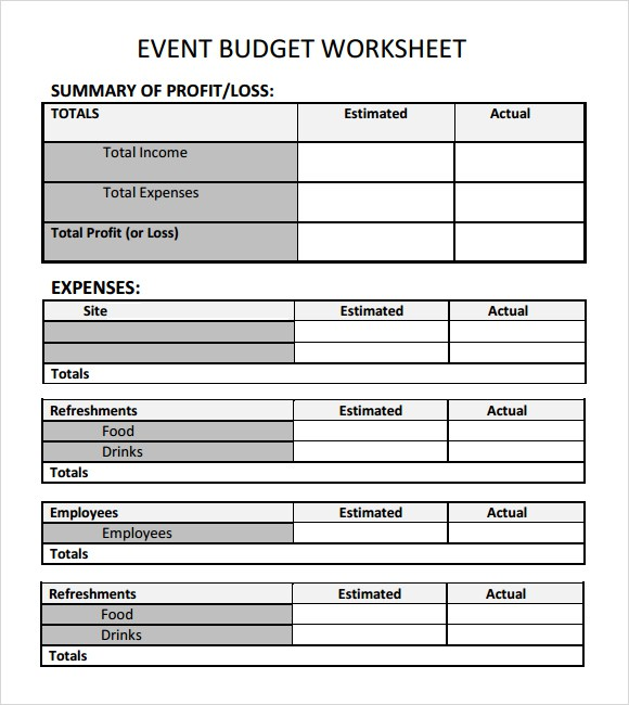 fundraising plan templates