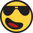 funny emoji copy and paste smiling face with sunglasses