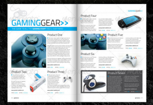 gaming website templates game magazine template