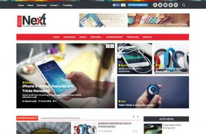gaming website templates technext magazine blogger template