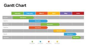 gantt chart powerpoint slide